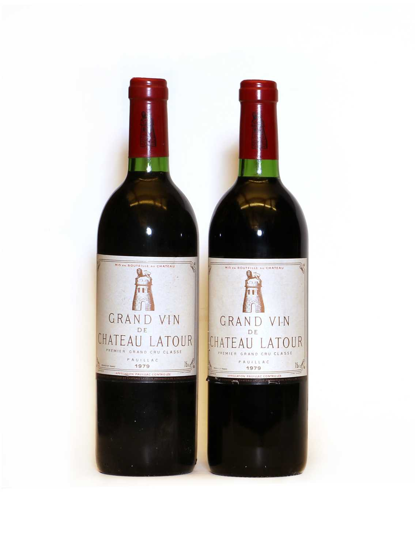 Chateau Latour, 1er Cru Classe, Pauillac, 1979, two bottles
