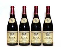 Beaune, 1er Cru, Clos des Ursules, Les Vignes Franche, Domaine des Heritiers, 2009, four bottles