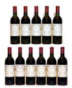 Château Cheval Blanc, Saint-Émilion 1er Grand Cru Classe, 1985, ten bottles, plus one 1997