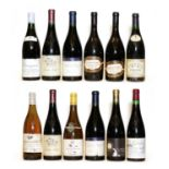 Assorted Loire Valley: Chinon, Baronnie Madeleine, Couly Dutheil, 1990, 1 bottle & 11 various