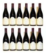 Santenay, 1er Cru, Clos Genet, Domaine Borgeot, 2003, twelve bottles (boxed)