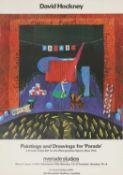 After David Hockney,