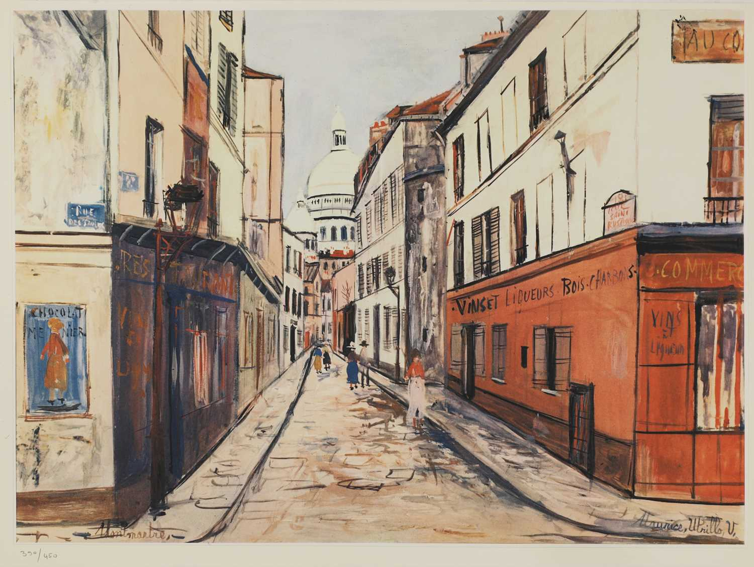 After Maurice Utrillo