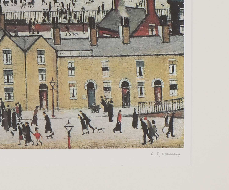*Laurence Stephen Lowry RA (1887-1976) - Image 3 of 4
