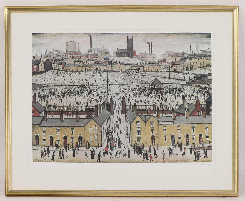 *Laurence Stephen Lowry RA (1887-1976) - Image 2 of 4