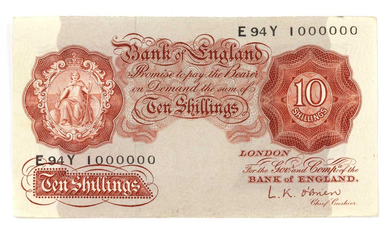 Banknotes, Great Britain, Elizabeth II (1952-), - Image 2 of 6