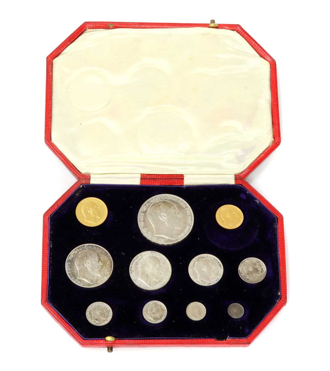 Coins, Great Britain, Edward VII (1901-1910), - Image 2 of 3