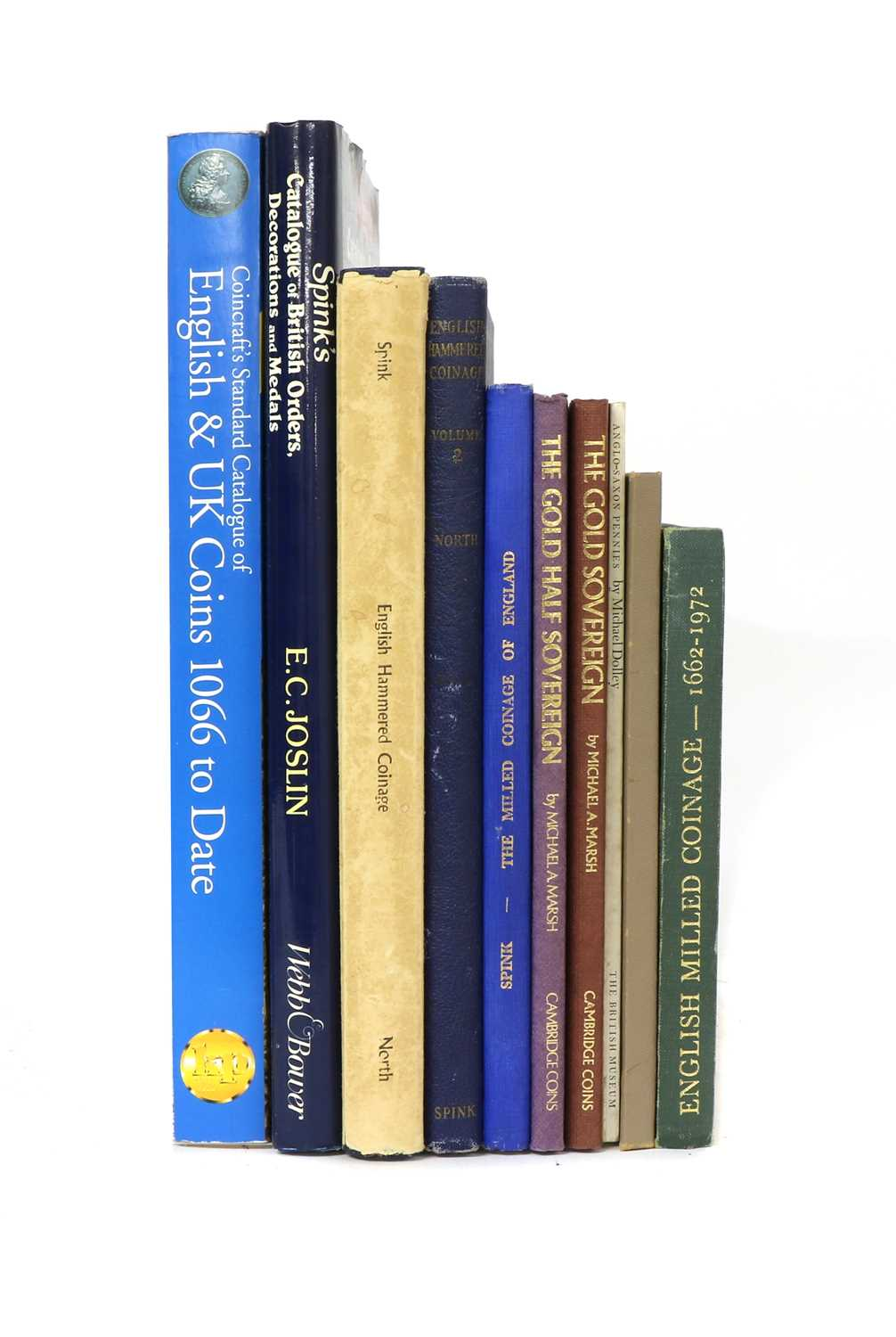Ten reference books on coins