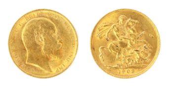 Coins, Greta Britain, Edward VII (1901-1910),