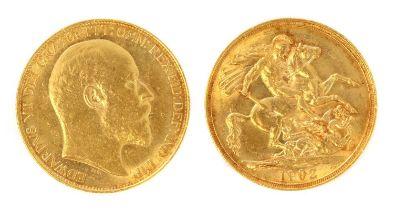 Coins, Great Britain, Edward VII, (1901-1911),