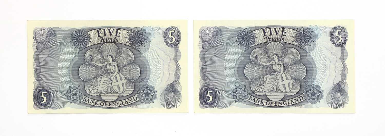Banknotes, Great Britain, Elizabeth II (1952-), - Image 2 of 2