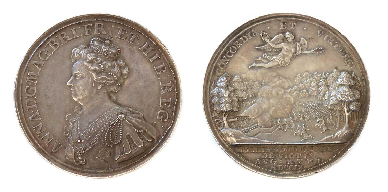 Medals, Great Britain, Queen Anne (1702-1714),