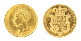 Coins, Great Britain, George IV (1820-1830),