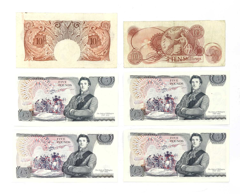 Banknotes, Great Britain, Elizabeth II (1952-), - Image 4 of 6