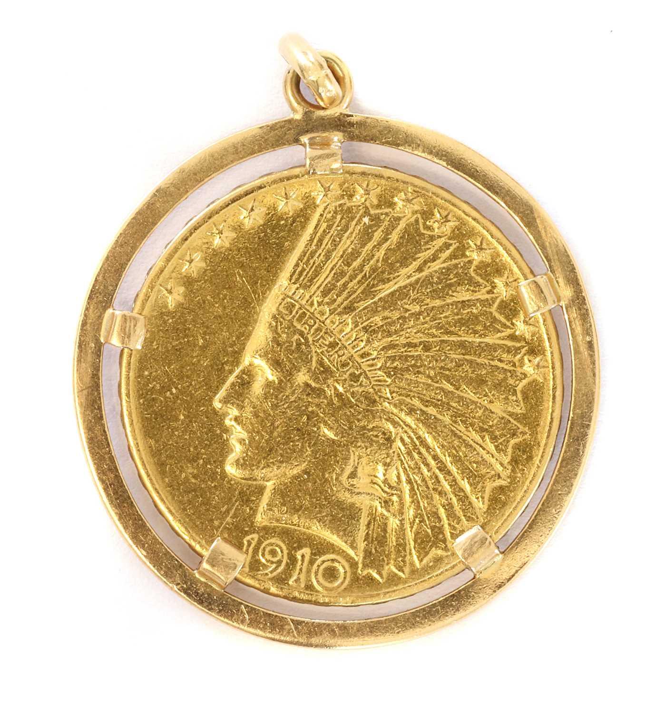 Coins, USA, Ten Dollars 'Eagle' gold coin,