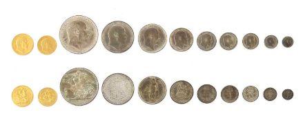 Coins, Great Britain, Edward VII (1901-1910),