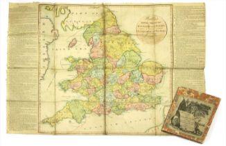 WALLIS, John: New Geographical Game, exhibiting a Tour Through England & Wales.