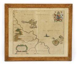 [Blaeu, J]: Mula Insula. The Yle of Mul. Map of the Isle of Mull.
