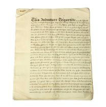 A Tripartite Indenture: Dated 28 May, 1759 and Signed by Thomas Herbert and William Duncombe.
