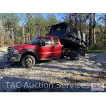 2007 Ford F550 XL Super Duty Dump Truck