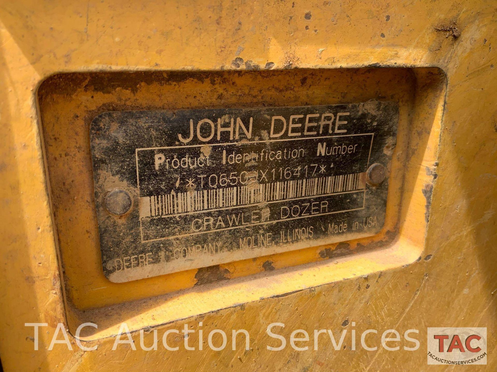 John Deere JD650J Dozer - Image 30 of 30