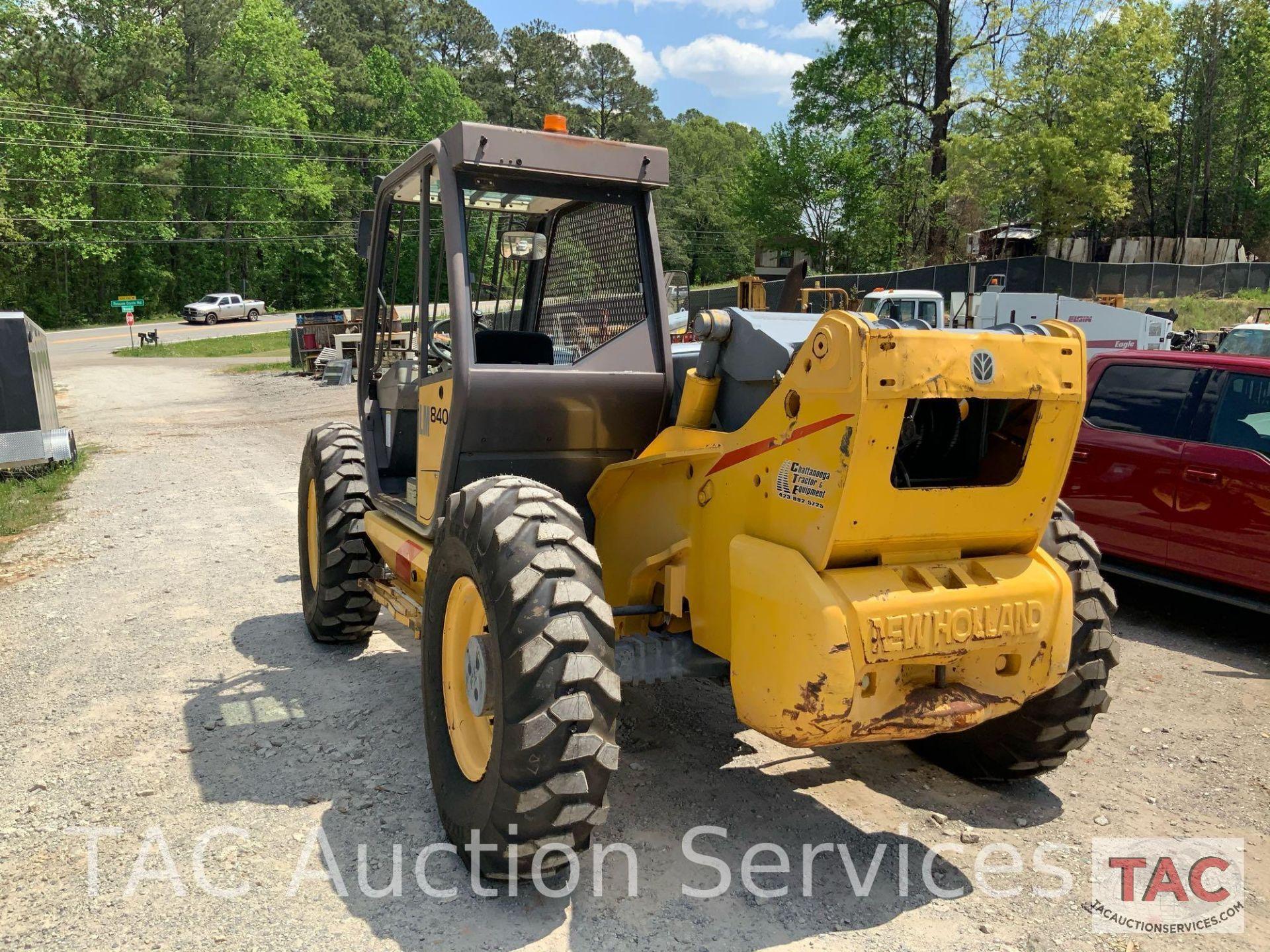 1999 New Holland LM840 Telehandler Forklift - Image 9 of 25