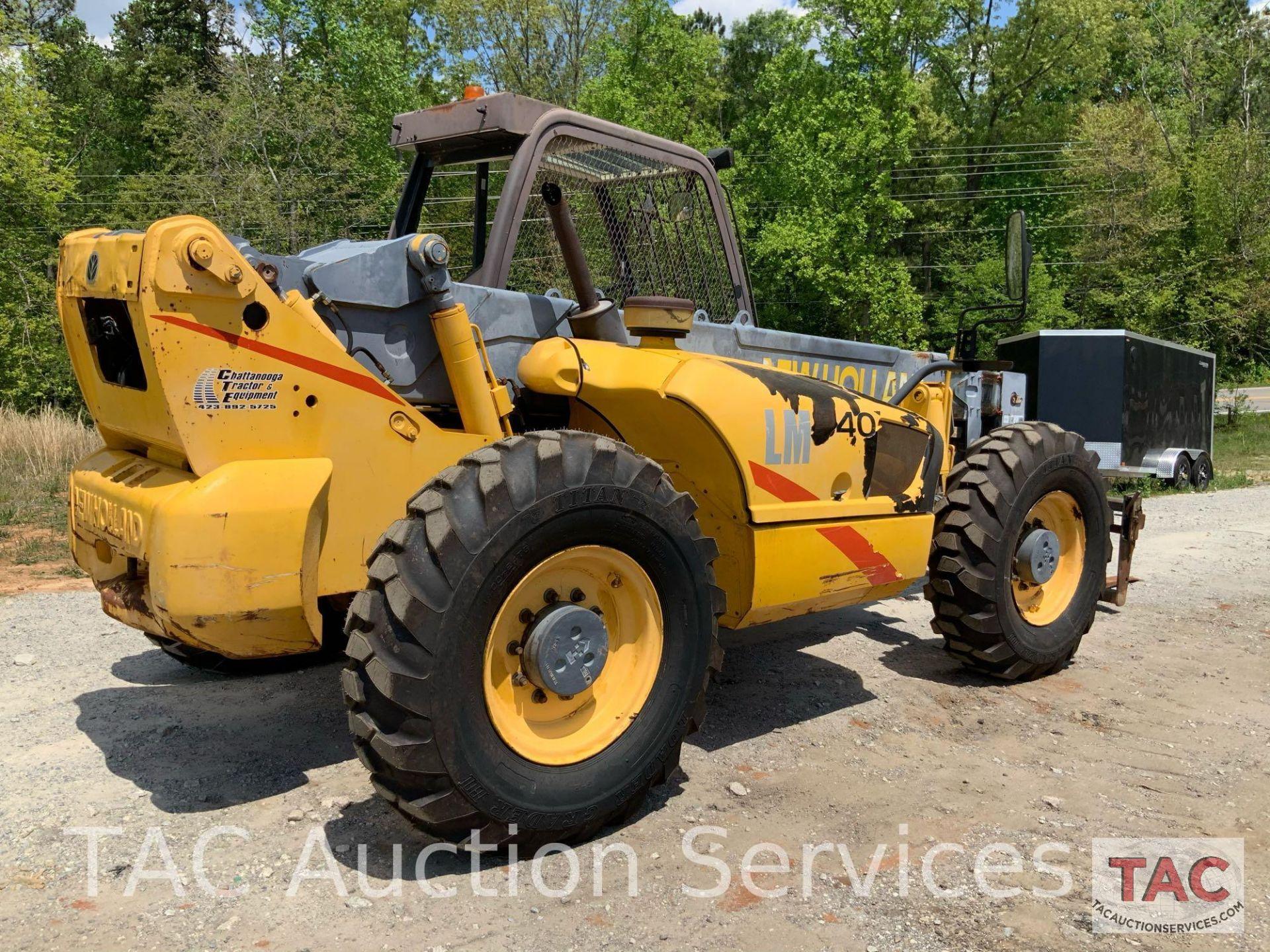 1999 New Holland LM840 Telehandler Forklift - Image 6 of 25