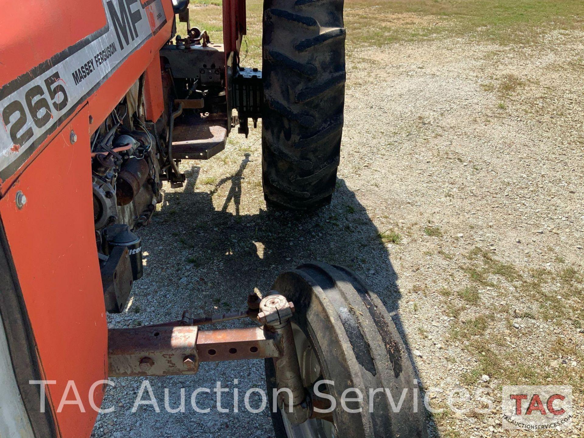 Massey Ferguson 265 FarmTractor - Image 12 of 23
