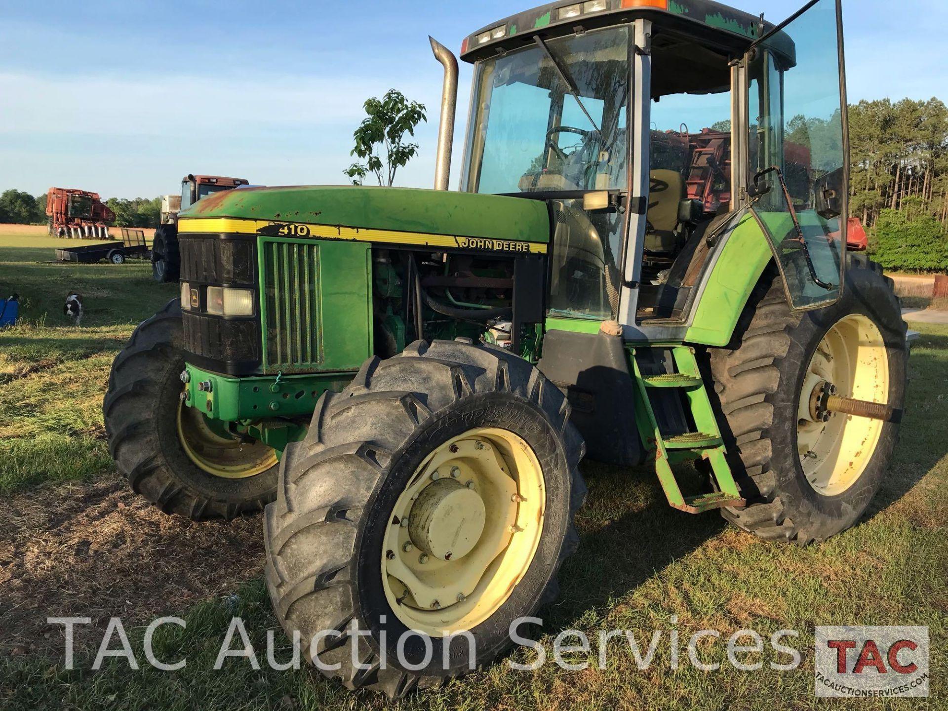 John Deere 7410 Farm Tractor