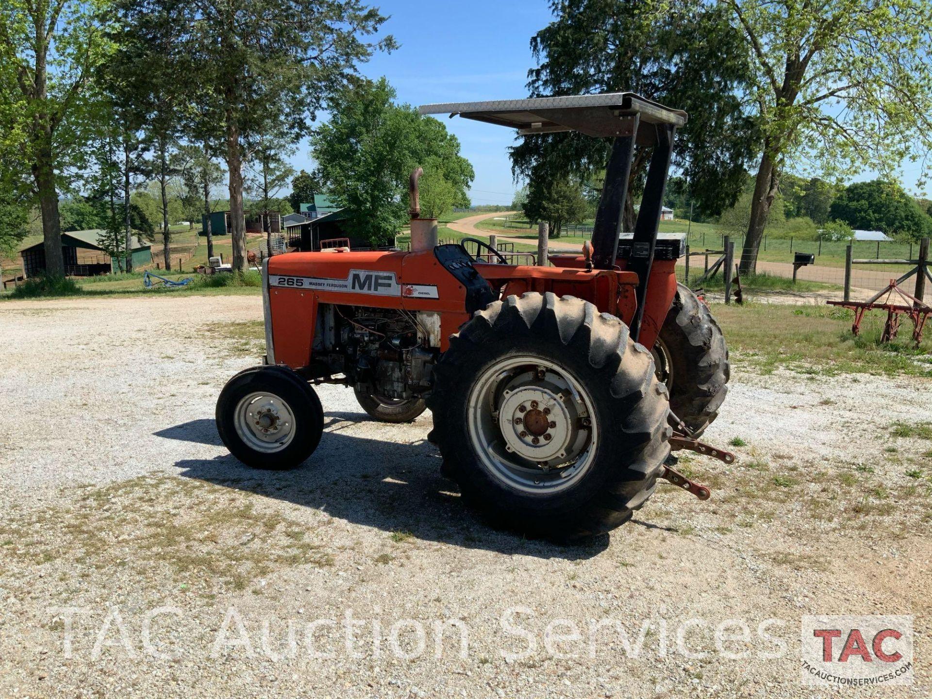 Massey Ferguson 265 FarmTractor - Image 5 of 23