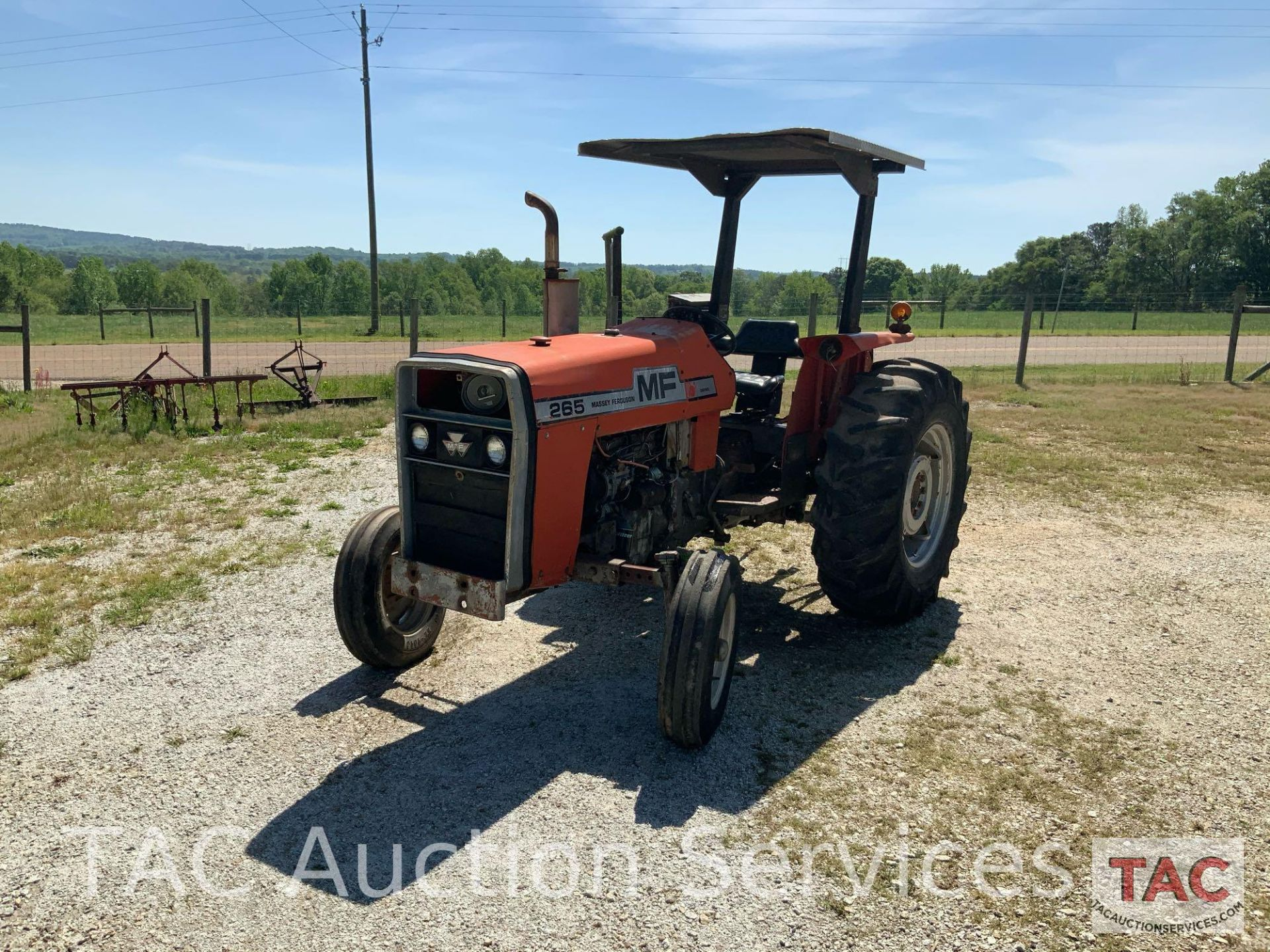 Massey Ferguson 265 FarmTractor - Image 3 of 23