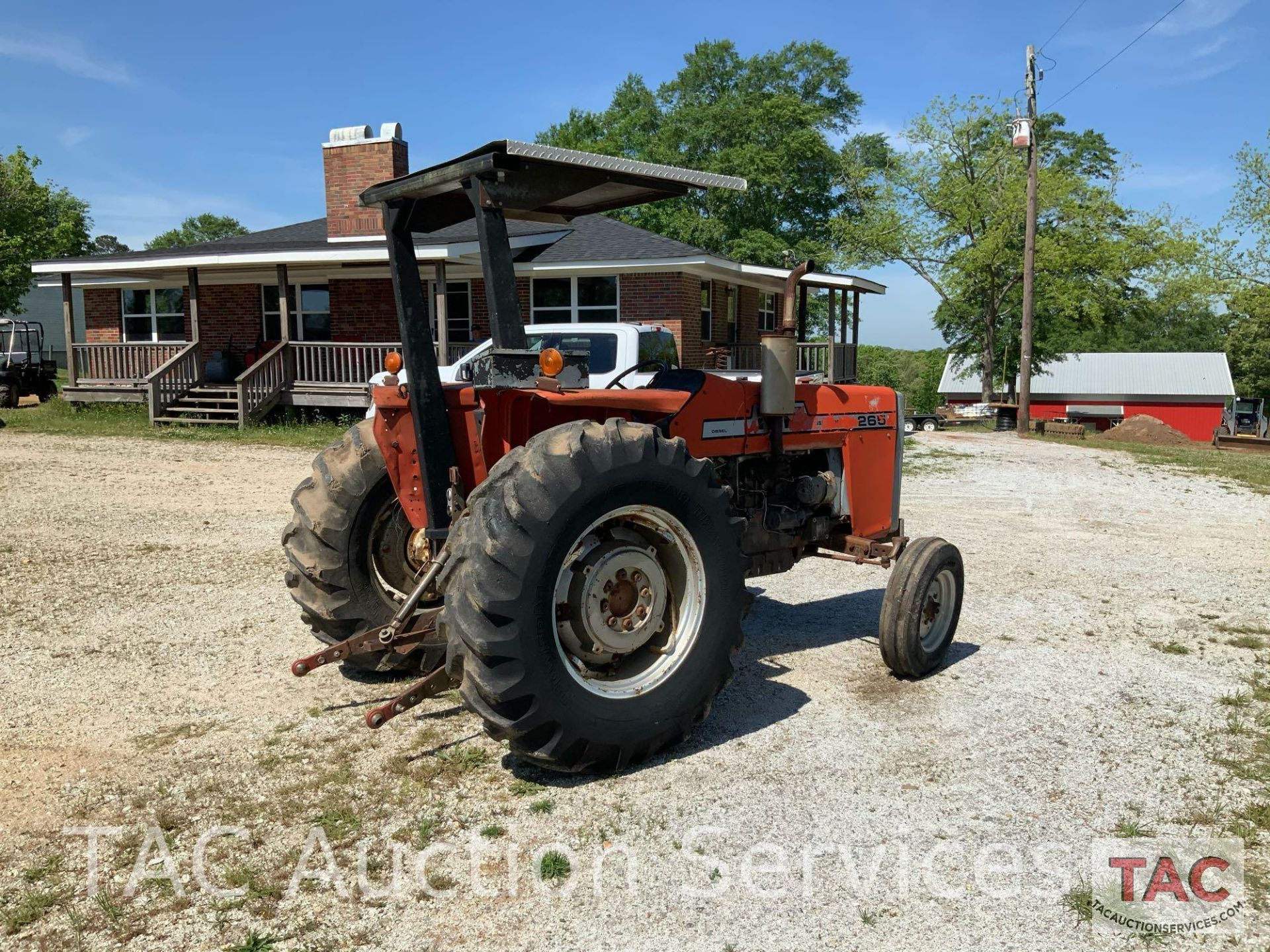 Massey Ferguson 265 FarmTractor - Image 9 of 23