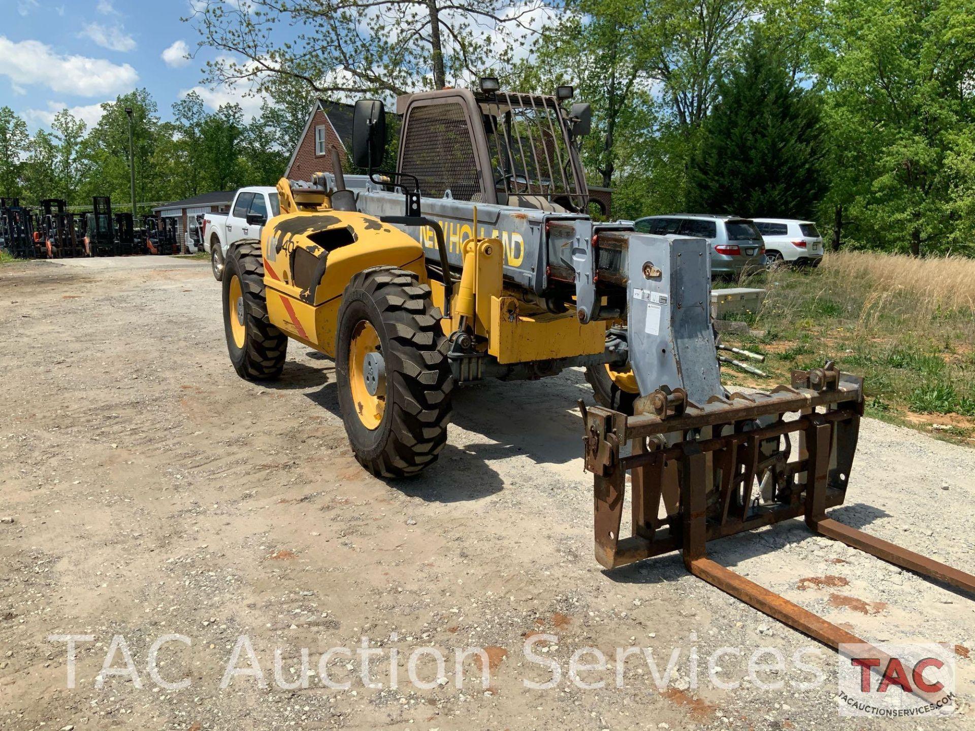 1999 New Holland LM840 Telehandler Forklift - Image 4 of 25