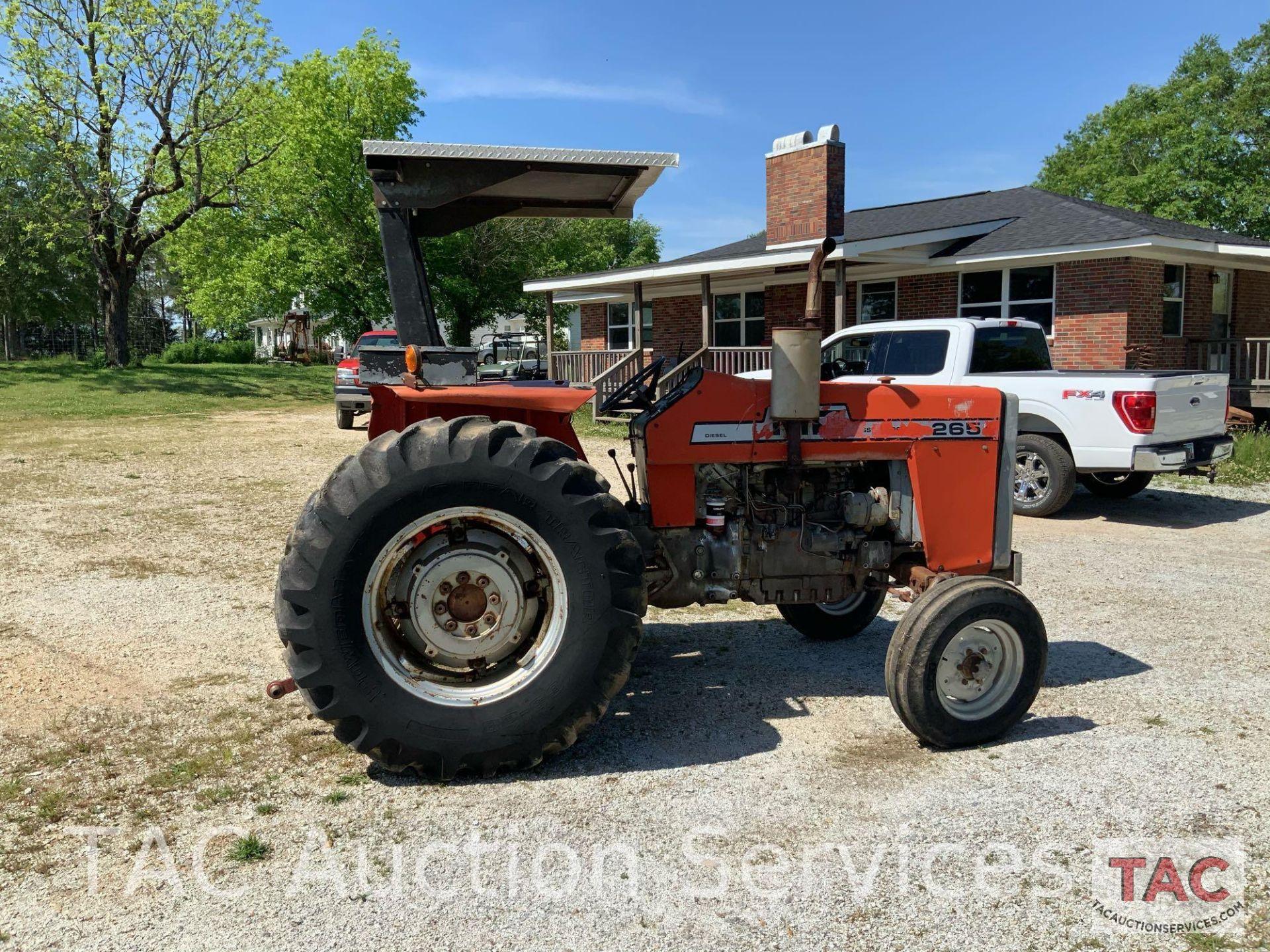 Massey Ferguson 265 FarmTractor - Image 10 of 23