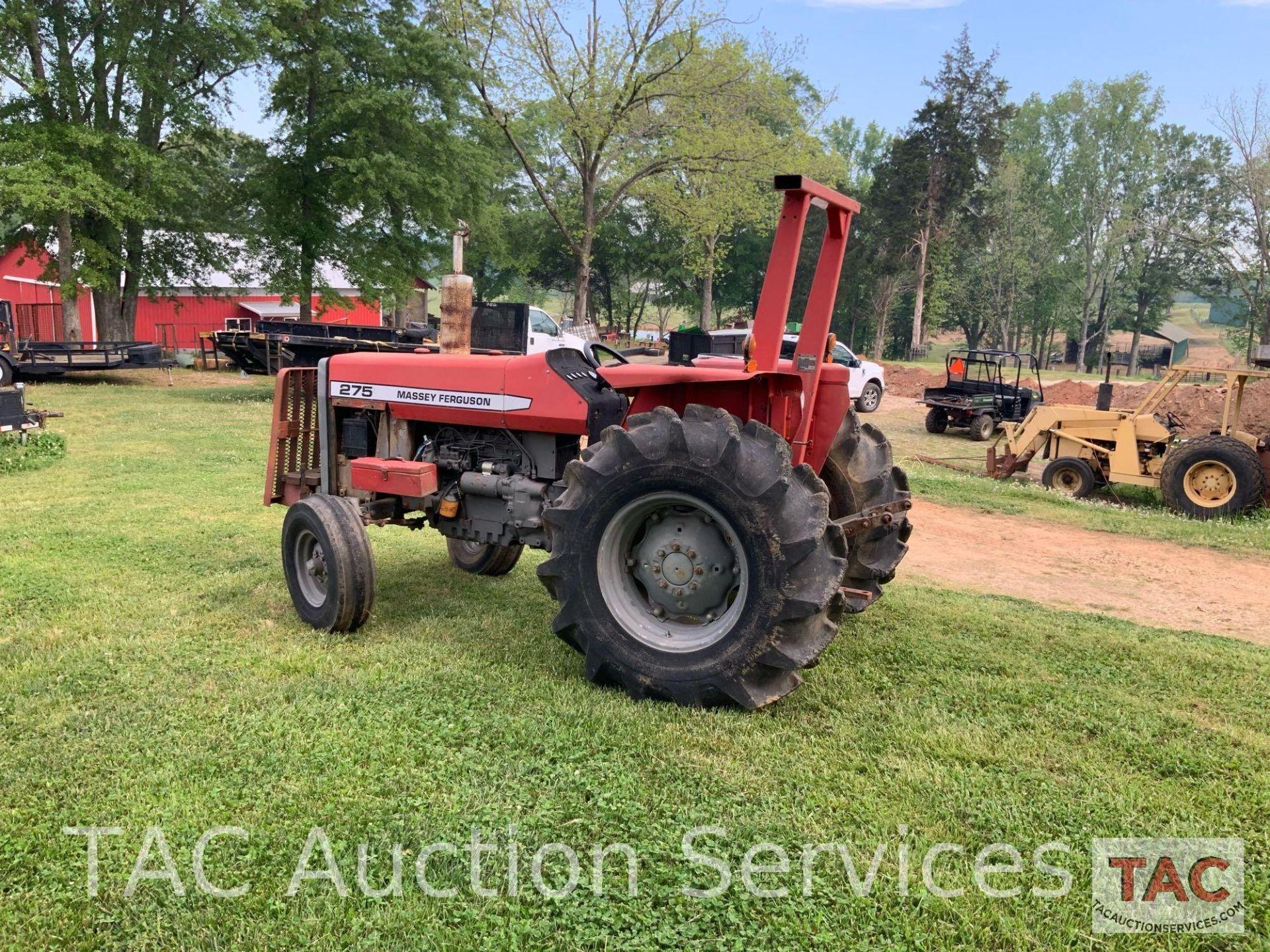 Massey Ferguson 275 Farm Tractor - Image 10 of 25