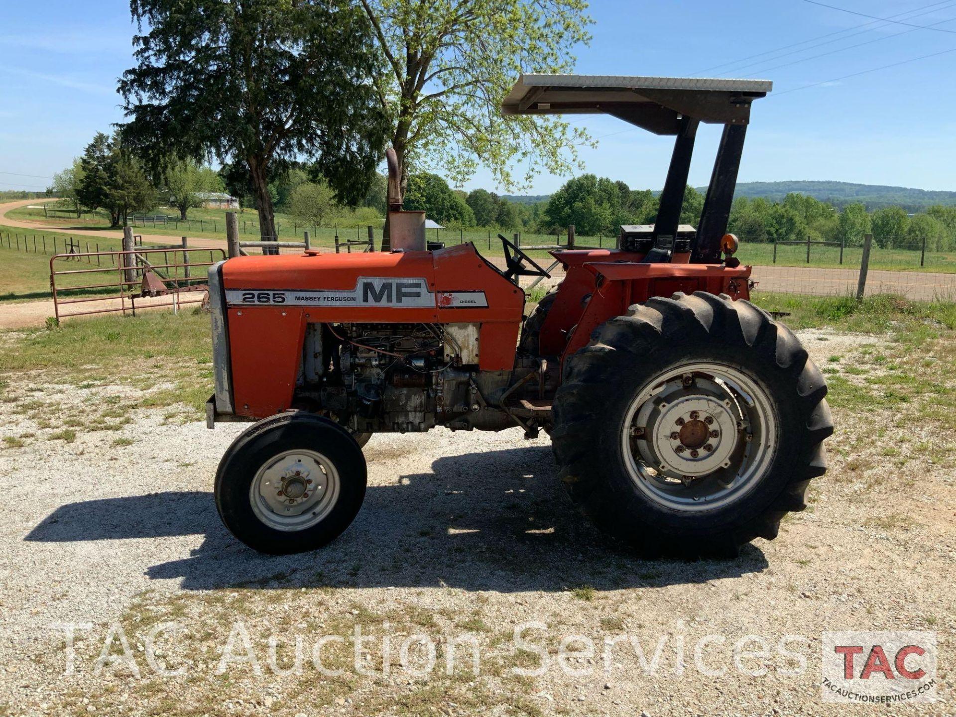 Massey Ferguson 265 FarmTractor - Image 2 of 23