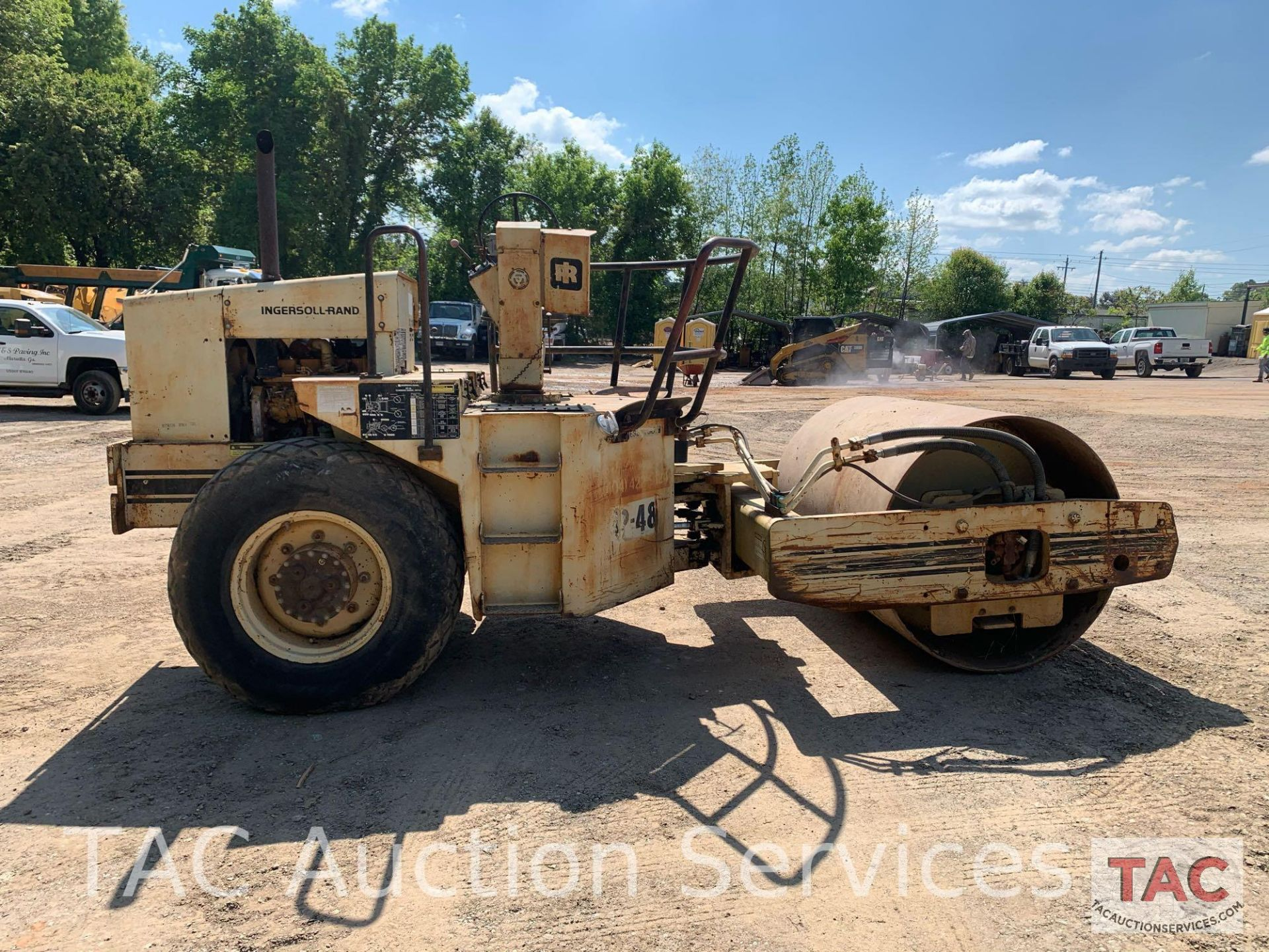 Ingersoll- Rand Vibratory Roller SP-48 - Image 8 of 36