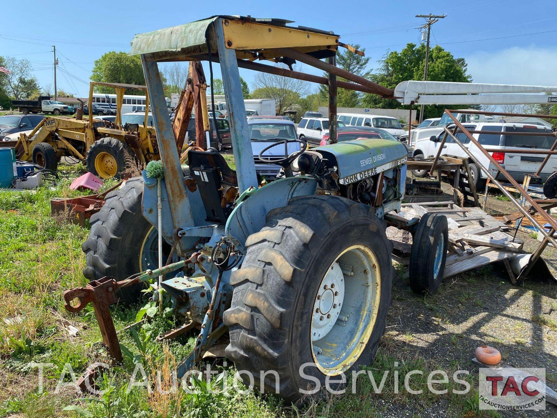 John Deere 2150 Farm Tractor - Image 4 of 34