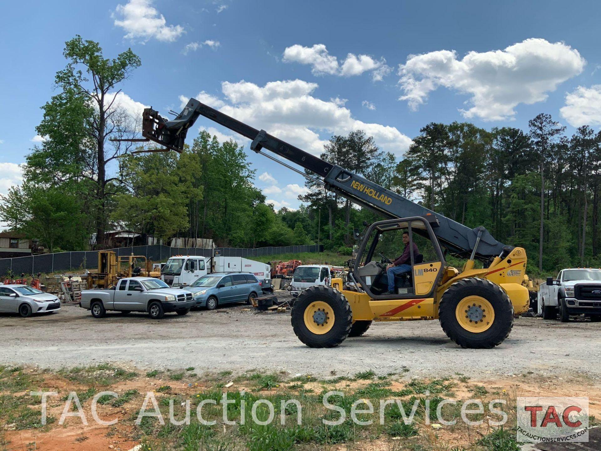 1999 New Holland LM840 Telehandler Forklift - Image 23 of 25