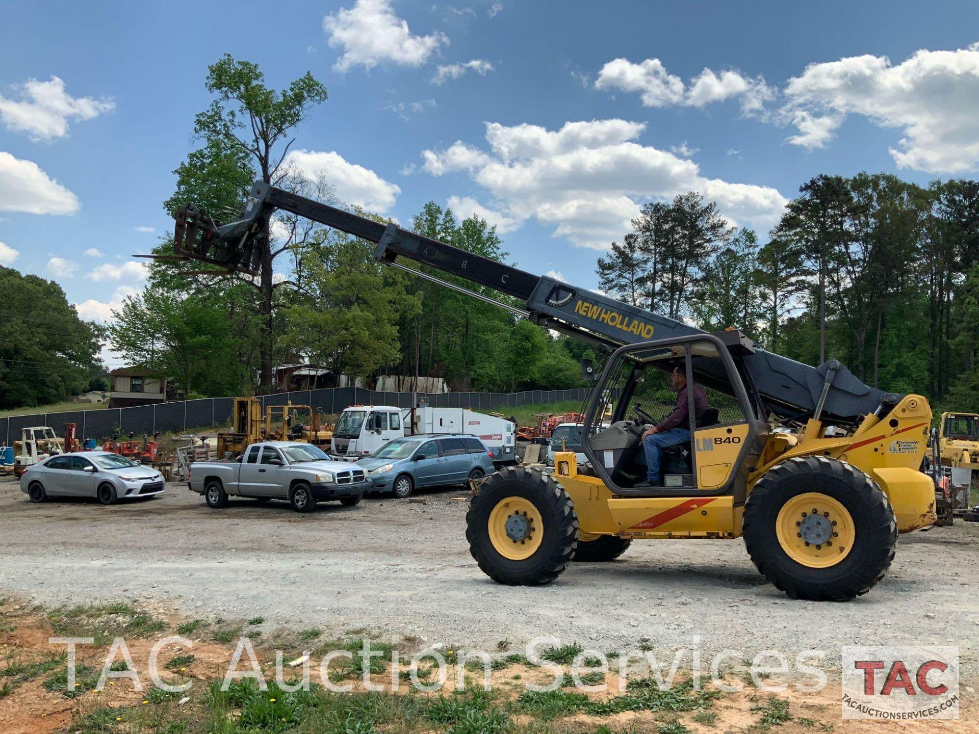 1999 New Holland LM840 Telehandler Forklift - Image 21 of 25