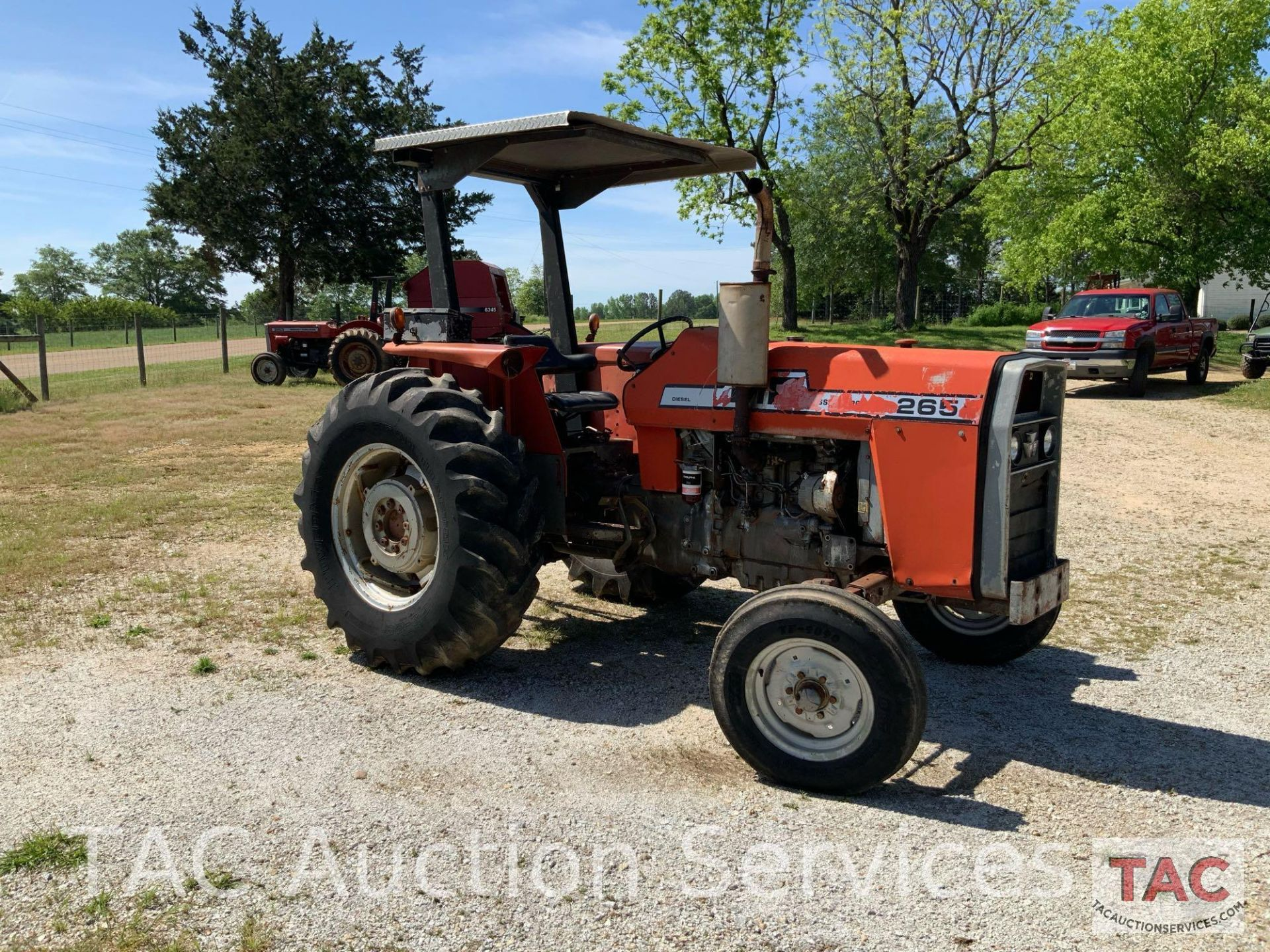Massey Ferguson 265 FarmTractor - Image 4 of 23