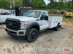2015 Ford F - 550 Service Truck