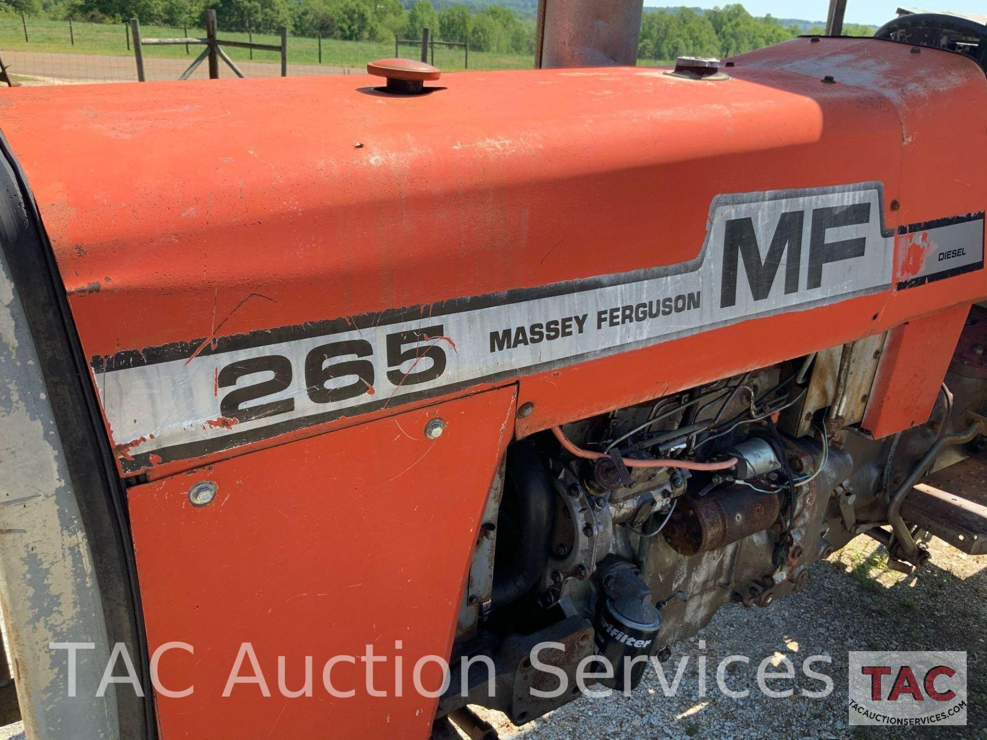 Massey Ferguson 265 FarmTractor - Image 13 of 23