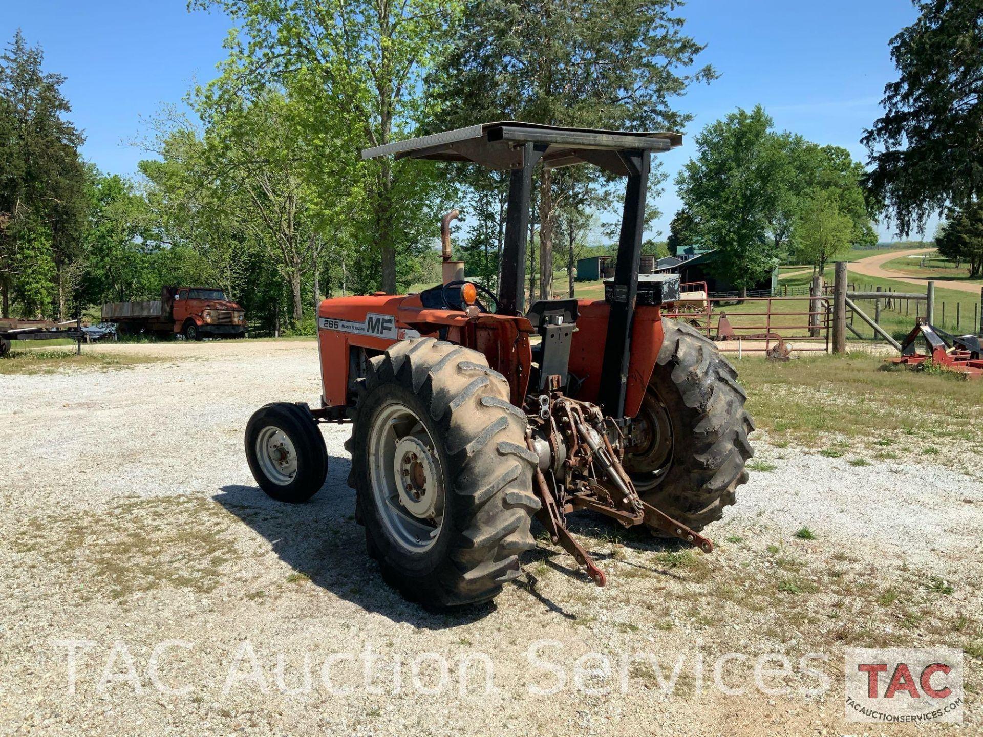 Massey Ferguson 265 FarmTractor - Image 6 of 23