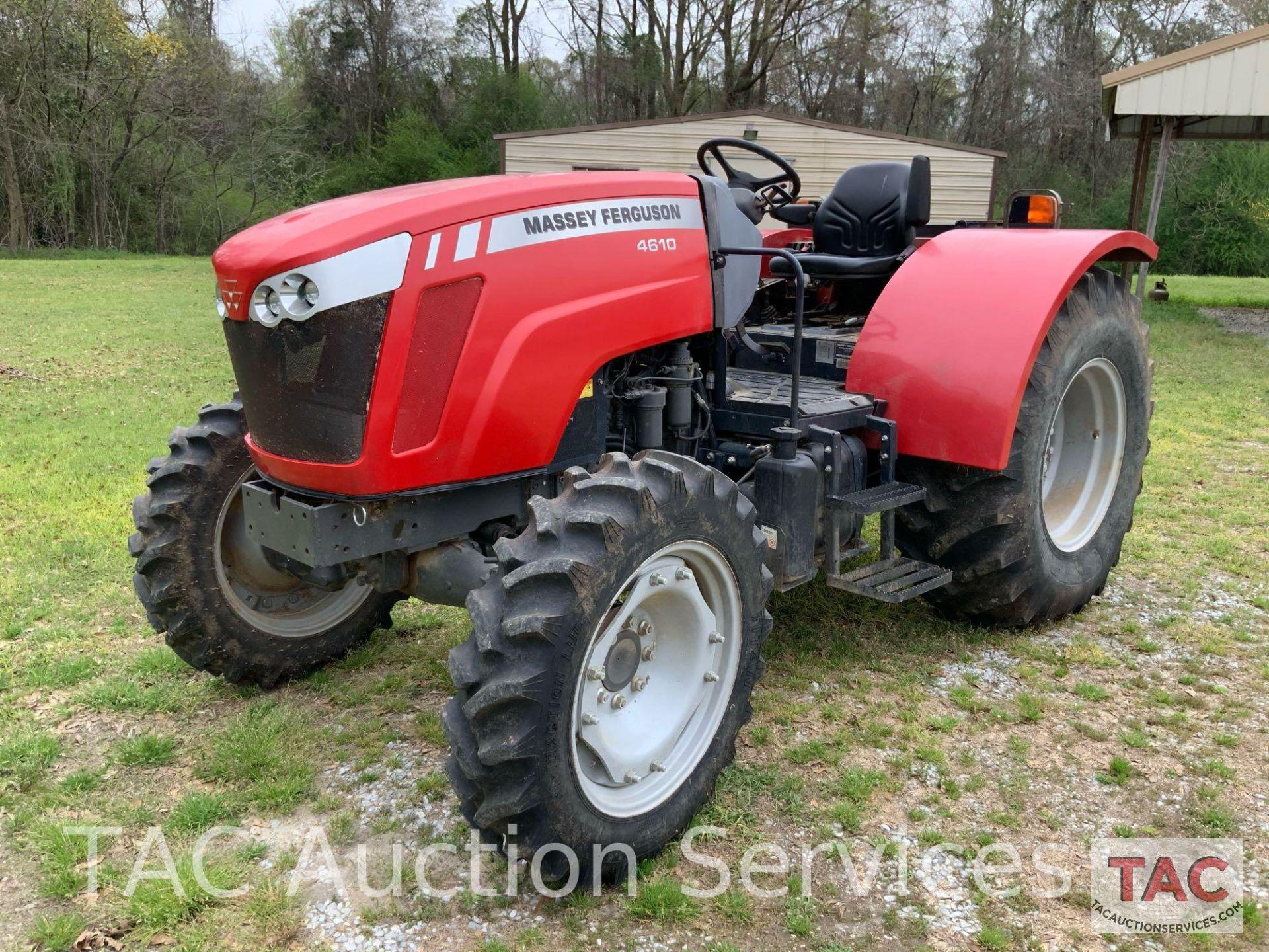Massey-Ferguson 4610LP Farm Tractor