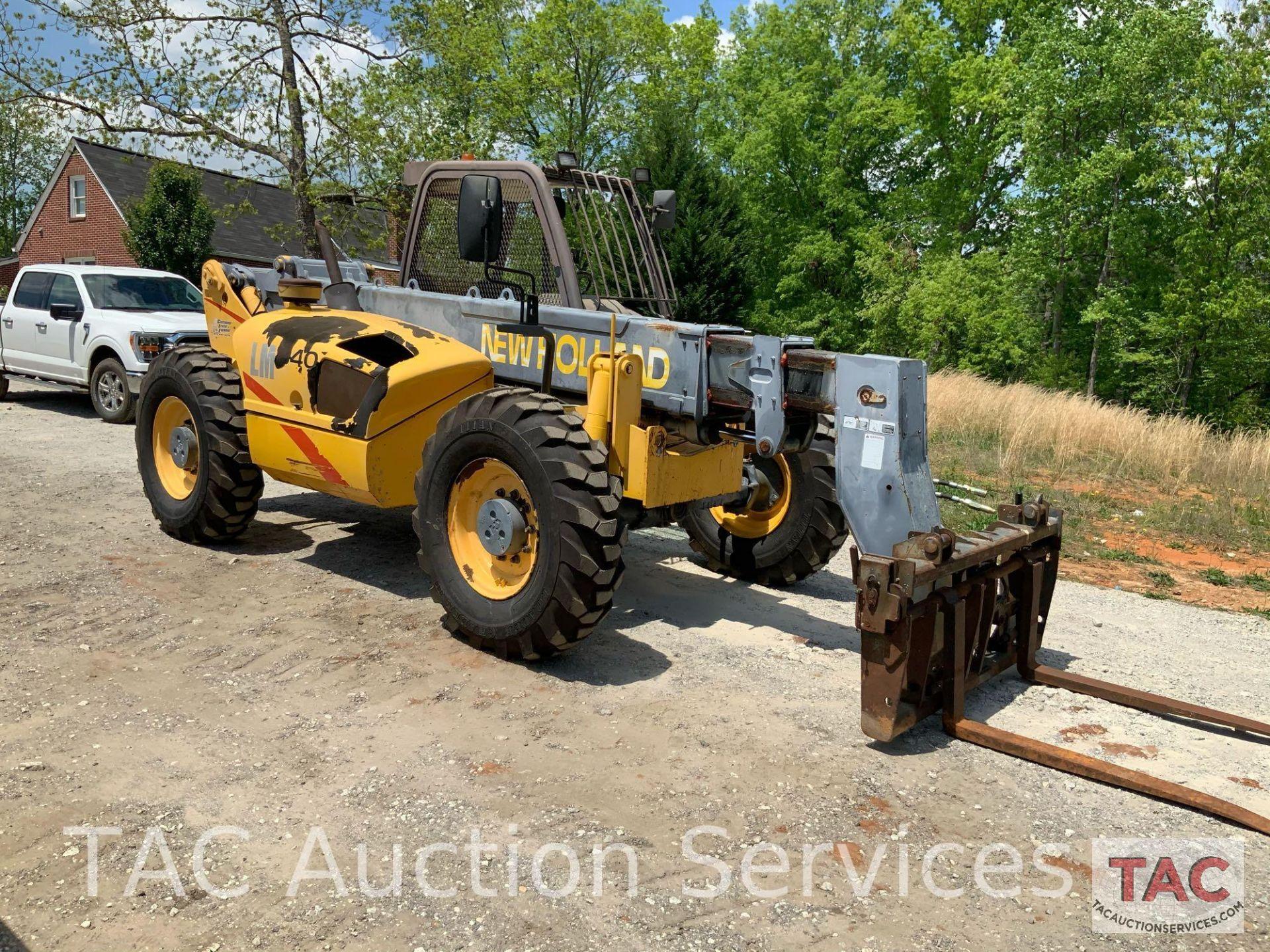 1999 New Holland LM840 Telehandler Forklift - Image 5 of 25