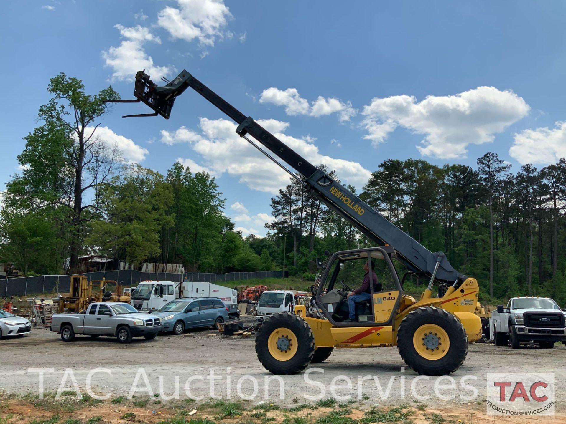 1999 New Holland LM840 Telehandler Forklift - Image 22 of 25