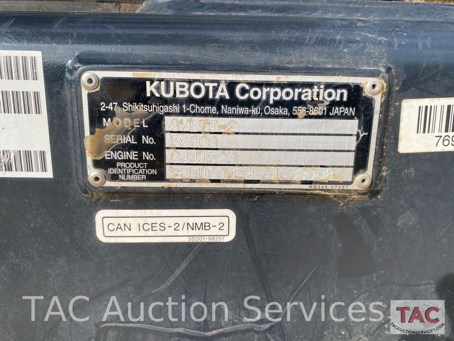 Kubota SVL 75-2 Skidsteer - Image 38 of 38