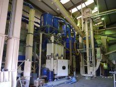 AVS ETS (EcoTre System)  Biomass Pelletising Plant (2008) & Hiller DA45-363 SB oil/water/solids separators / decanting centrifuges
