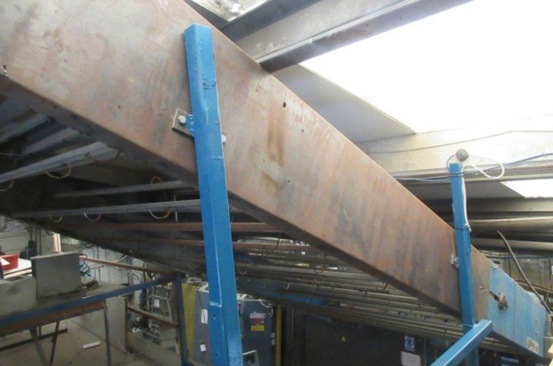 Developments & Products (Leeds) Ltd space frame conveyor
